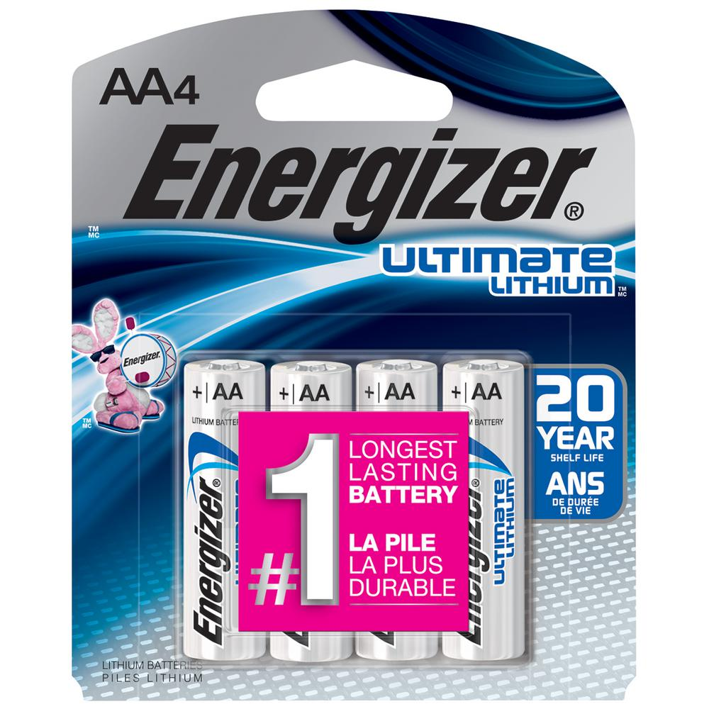 Ultimate Lithium AA Battery (4-Pack)