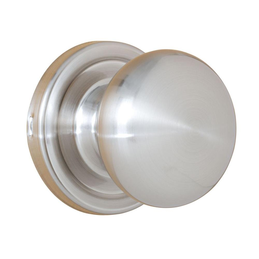 Weslock Traditionale Satin Nickel Half-Dummy Impresa Knob