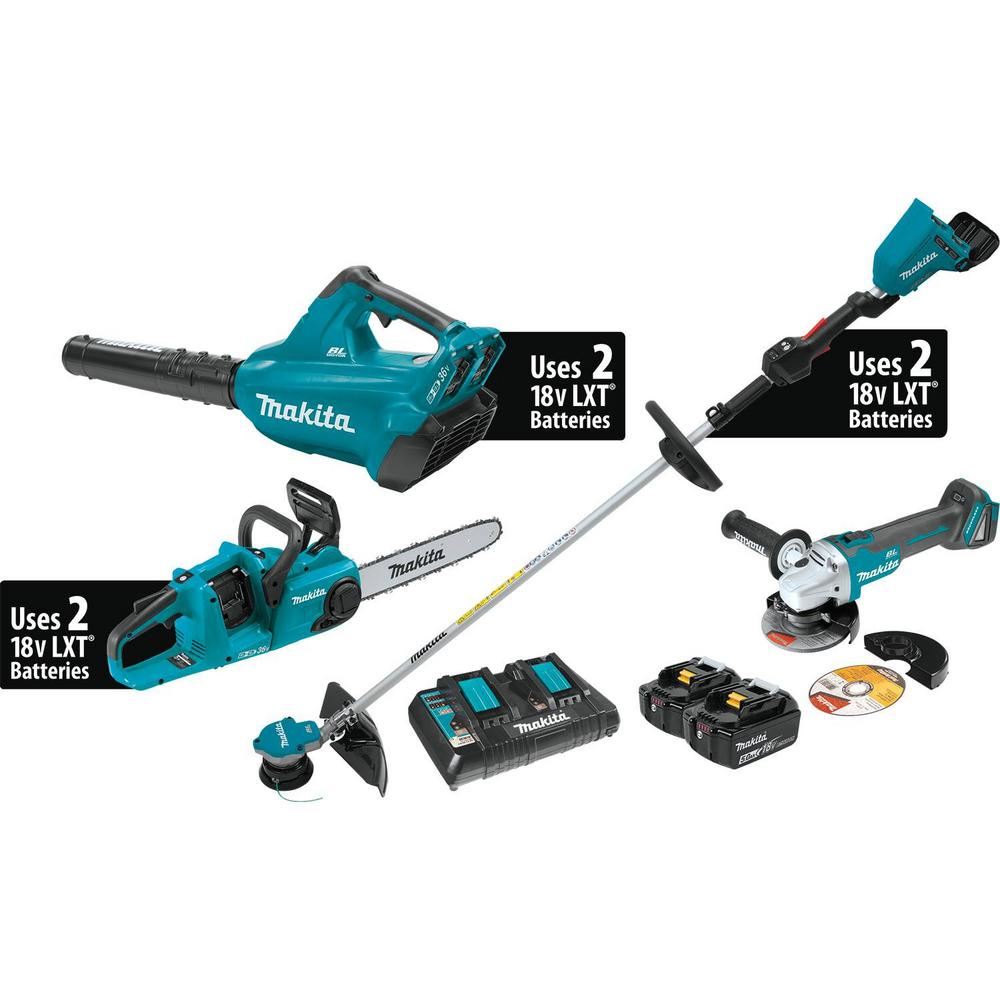 18-Volt X2(36V) LXT Lithium-ion Brushless Cordless 3-Pc Kit (Blower/String