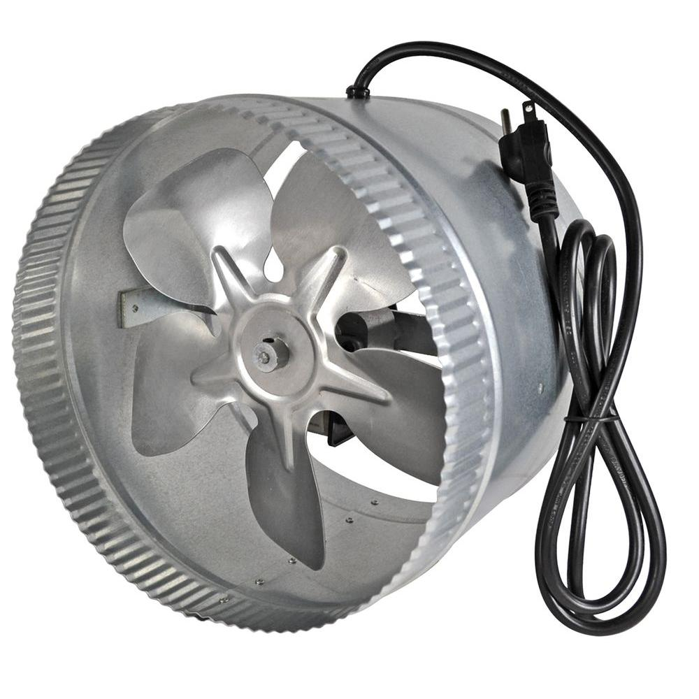 Inline Duct Fans Home Depot : Suncourt inductor in corded line duct fan db c