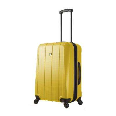 Tosetti 24 in. Gold Hardside Spinner Suitcase
