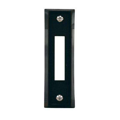 Wired Door Bell Push Button, Black