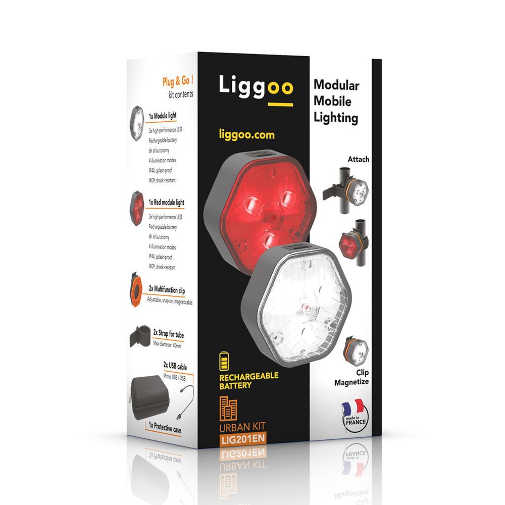 Liggoo Urban Multi-Purpose Freehand Rechargeable Lighting Kit by Liggoo