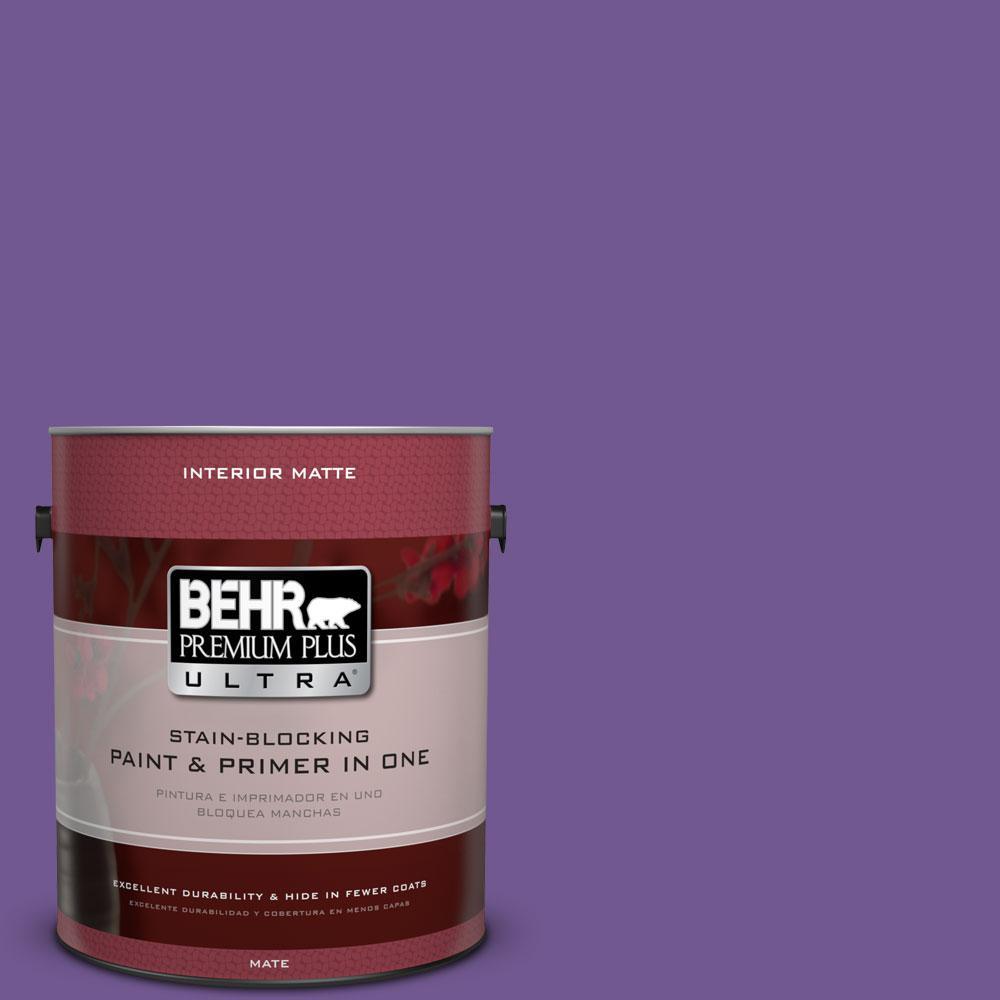 1 gal. #P570-6 Classic Waltz Matte Interior Paint