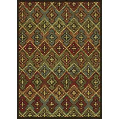 Roswell Brown 8 ft. x 11 ft. Area Rug