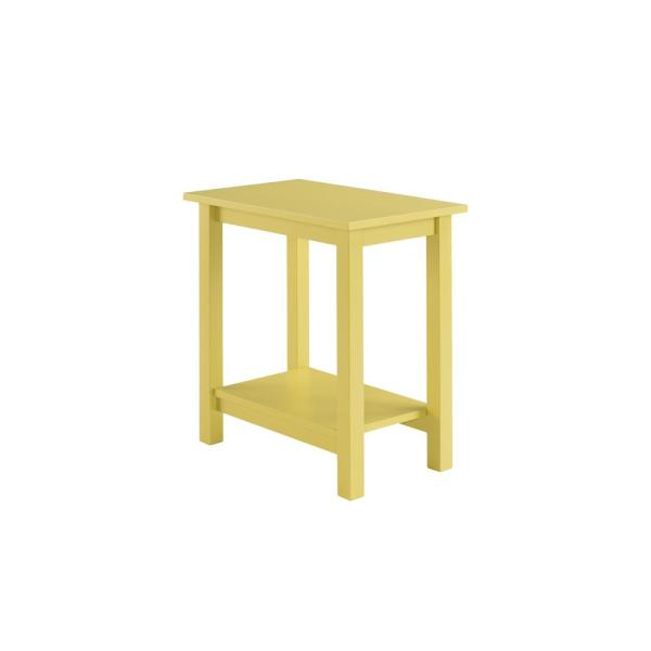 Landry Yellow Side Table