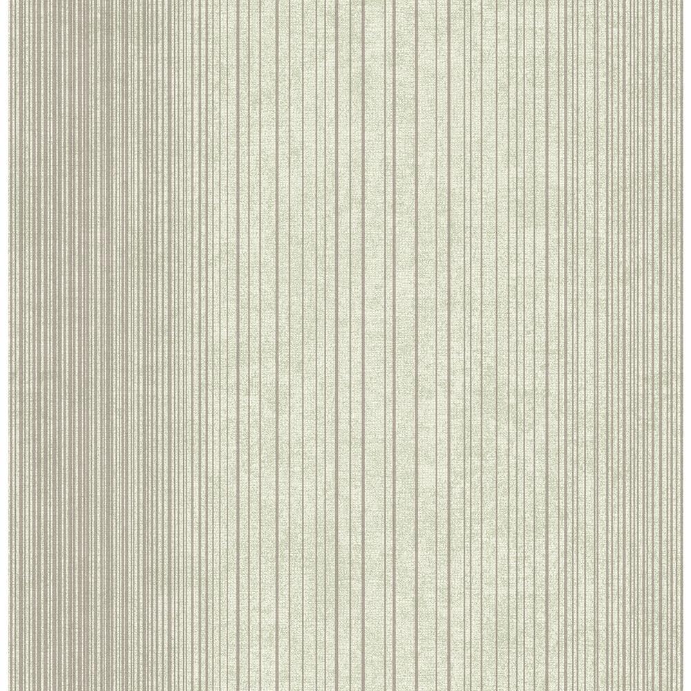 Brewster Insight Light Grey Stripe Wallpaper 2662 001908