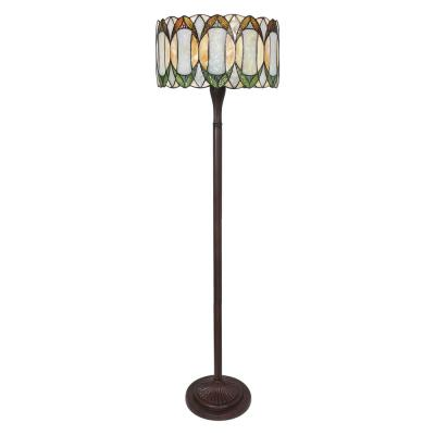 58 in Tiffany Style Contemporary Drum Floor Lamp