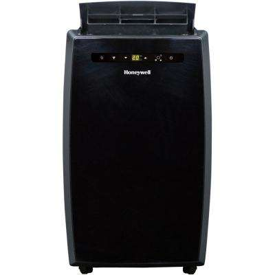 10,000 BTU Portable Air Conditioner with Dehumidifier and Remote Control in Black