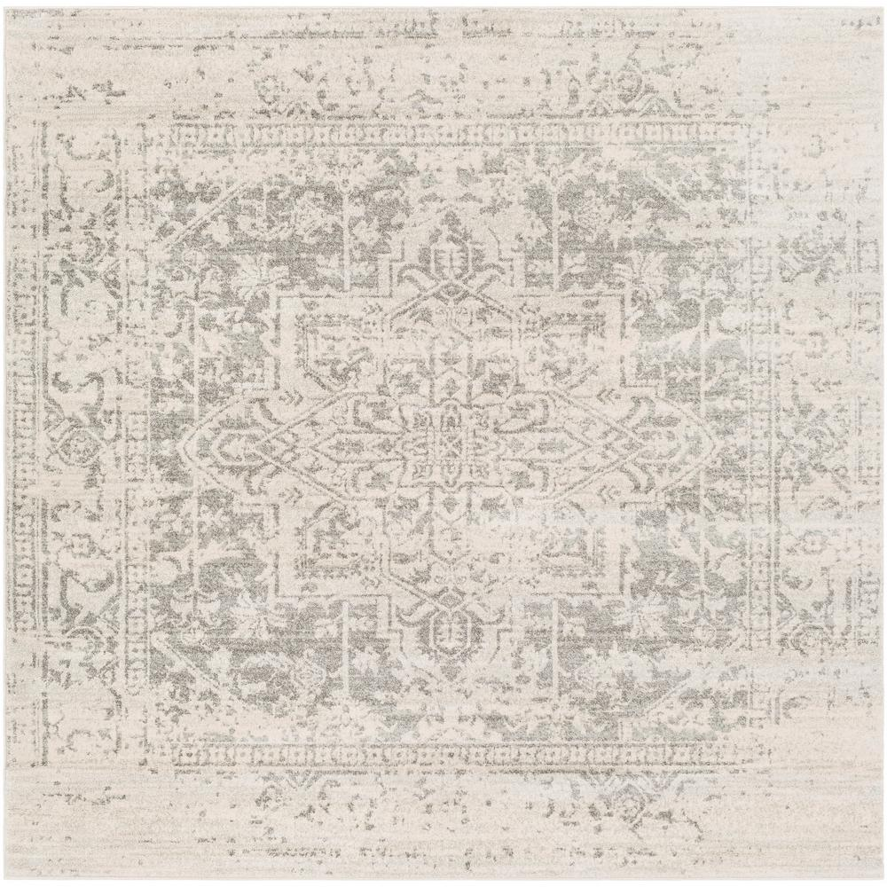 Artistic Weavers Demeter Gray 6 ft. 7 in. Square Area Rug was $230.01 now $117.26 (49.0% off)