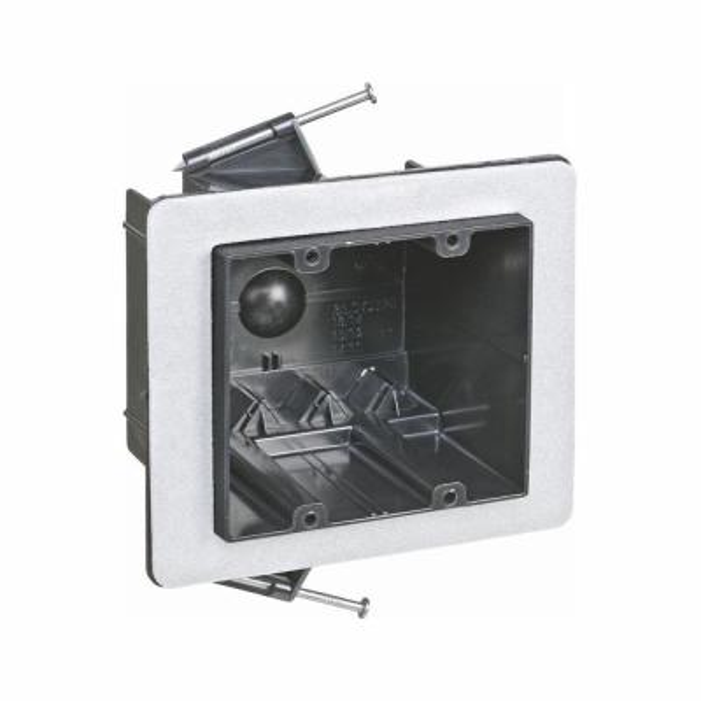2-Gang 36 cu. in. New Work Non-Metallic Vapor Tight Electrical Wall Box (Case of 12)