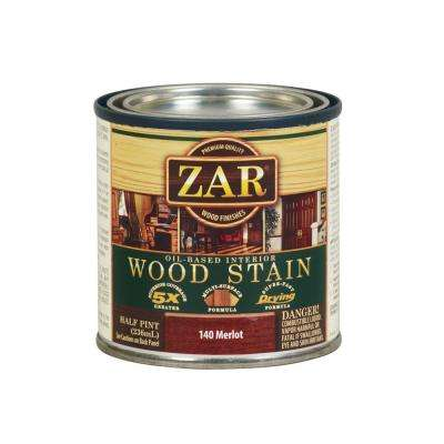 8 oz. Merlot Wood Interior Stain (2-Pack)