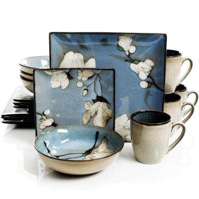 Bloomington 16-Piece Casual Miscellaneous Stoneware Dinnerware Set (Service for 4)