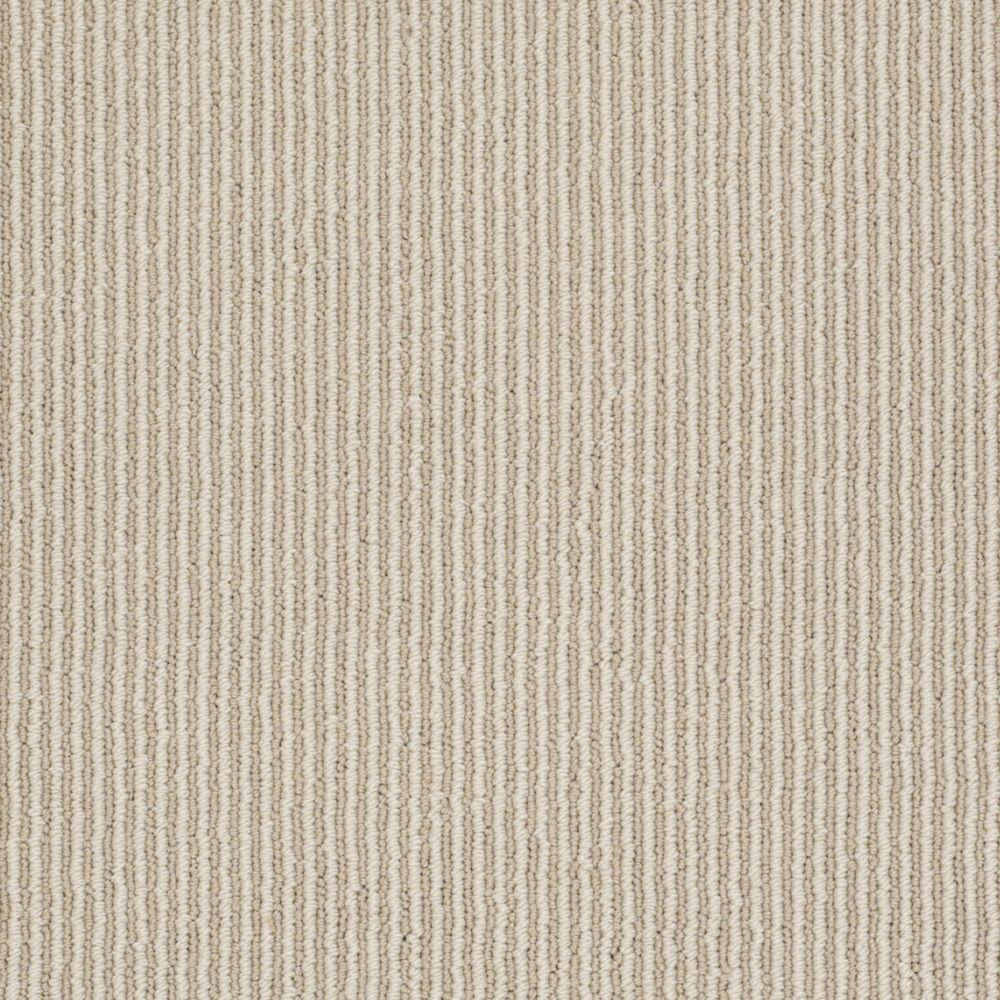 Martha Stewart Living Statford Heights - Color Snail Shell 6 in. x 9 in. Take Home Carpet Sample