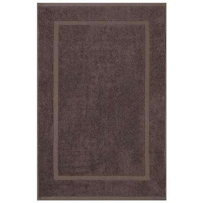 Newport Charcoal 20 in. x 34 in. Egyptian Cotton Bath Mat