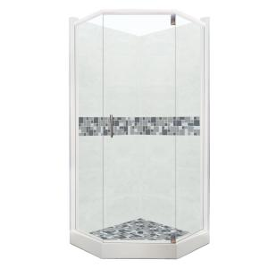 Newport Grand Hinged 32 In. X 36 In. X 80 In. Right