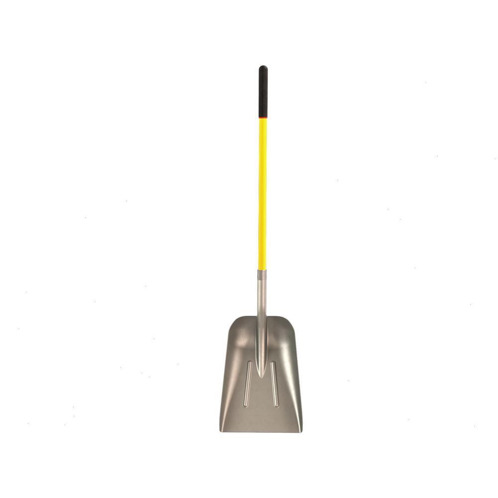 48 in. Fiberglass Handle Western Blade Aluminum Scoop Shovel