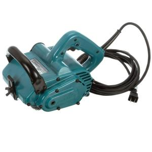 Makita 7.8 Amp 4-3/4 inch x 4 inch Corded Wheel Sander with 100 Grit Nylon Brush Wheel by Makita
