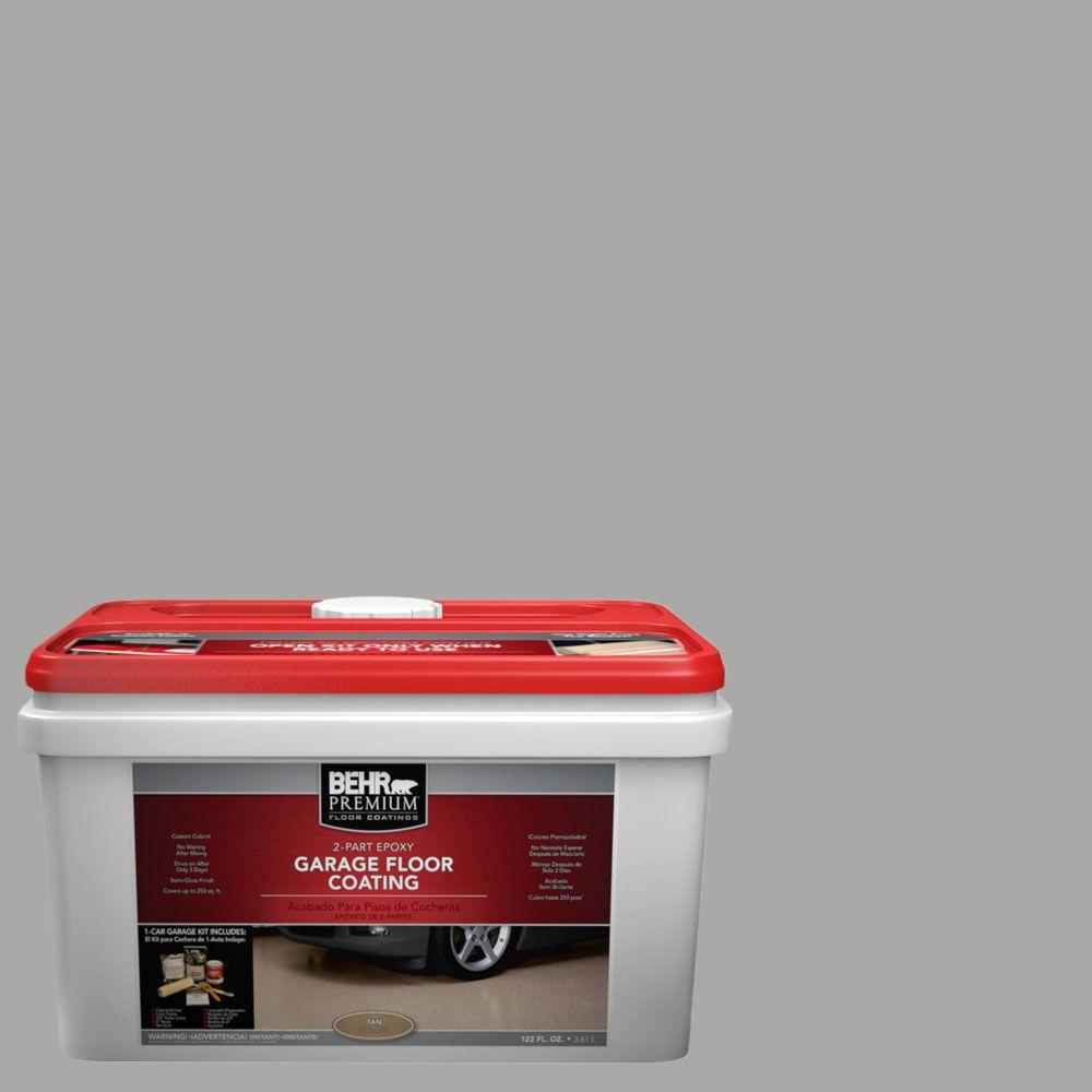1-gal. #PFC-68 Silver Gray 2-Part Epoxy Garage Floor Coating Kit