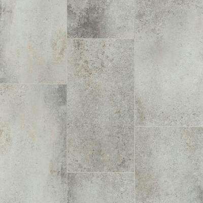 Oasis Seashore 12 in. x 24 in. Resilient Vinyl Tile (28.31 sq. ft.)