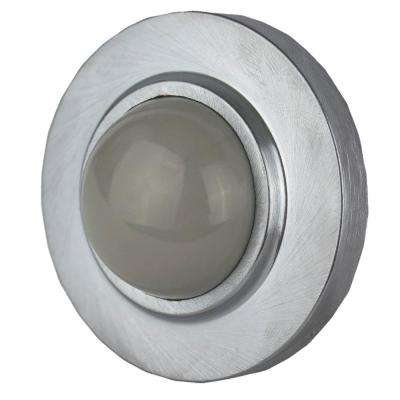 Satin Chrome Concave Wall Stop