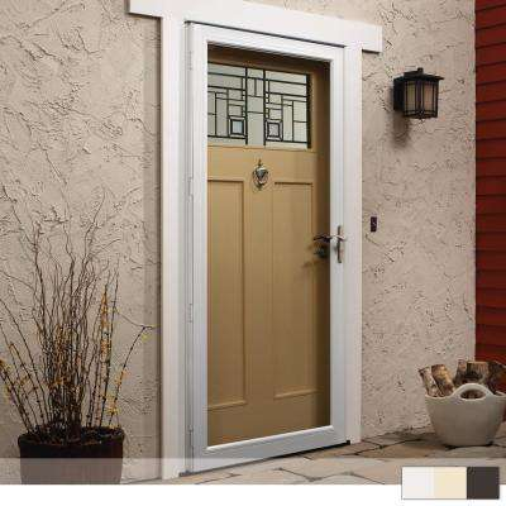 4000 Series Full View Aluminum Storm Door