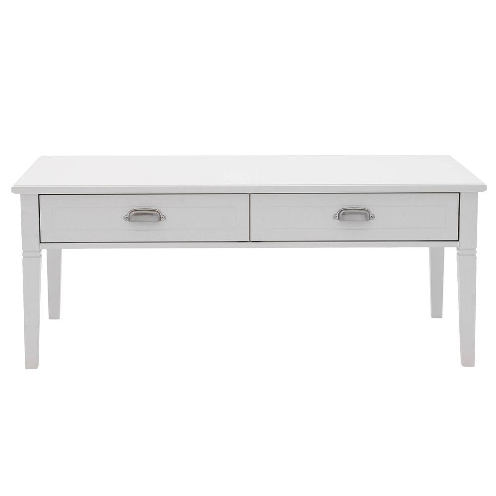 Home Decorators Collection Amelia 47 5 In X 23 2 Drawer Coffee Table