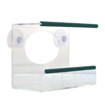 Clear View Squirrel-Proof Window Bird Feeder