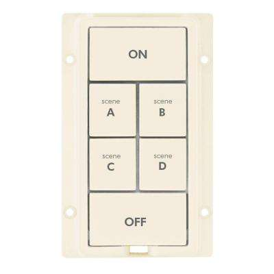 6 Button Change Kit - Light Almond