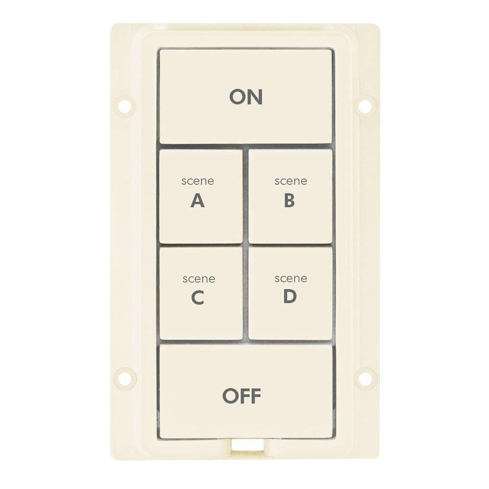 6 Button Change Kit - Light Almond