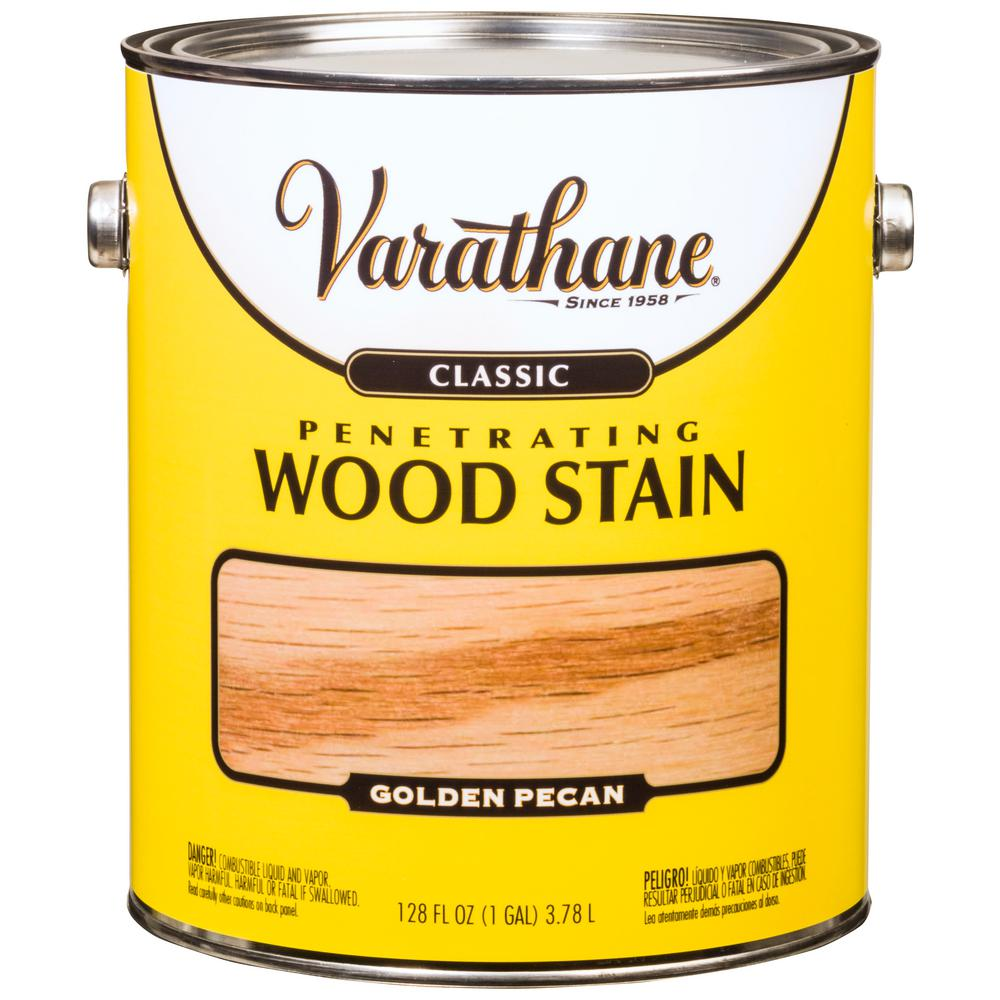 1 gal. Golden Pecan Classic Wood Interior Stain