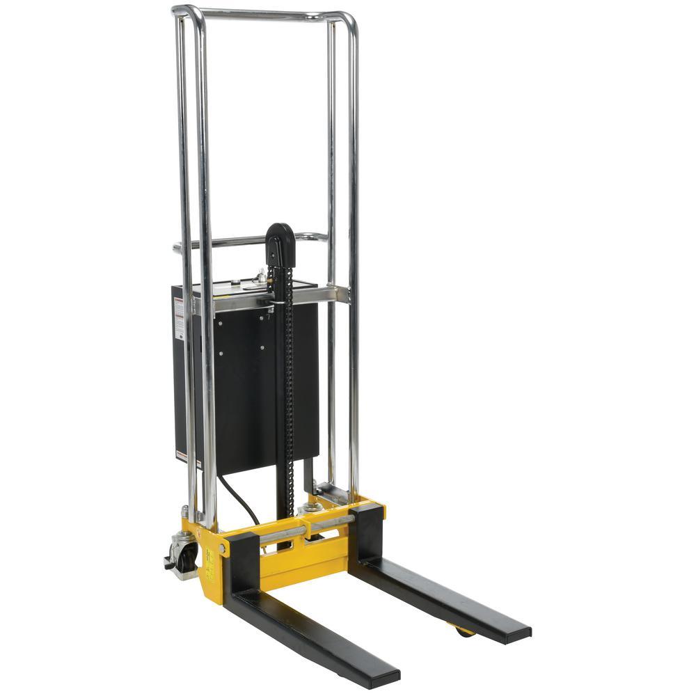 70 in. x 36 in. x 23 in. DC Powered Steel Hefti-Lift