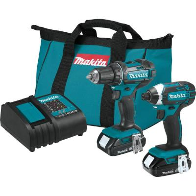 18-Volt LXT Lithium-Ion Compact 2-Piece Combo Kit (Driver-Drill/Impact Driver)