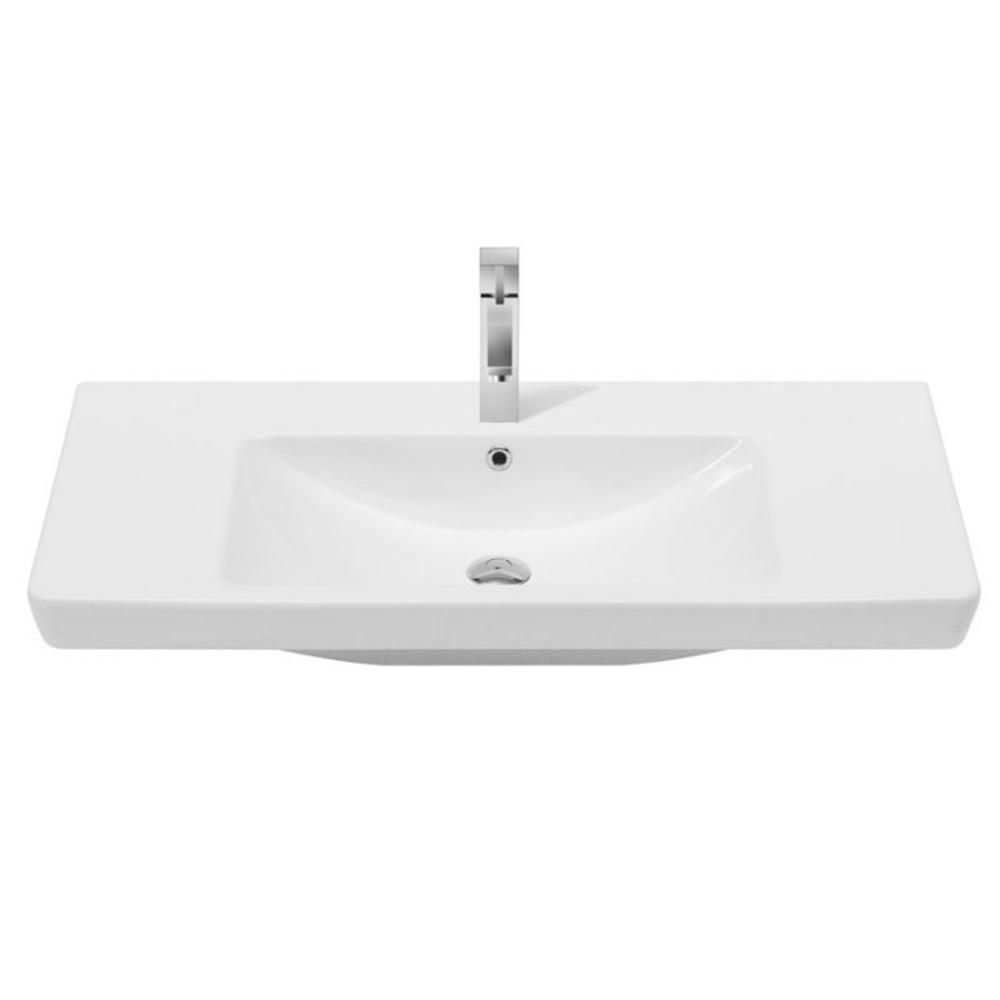 Nameeks Porto Wall Mounted Bathroom Sink In White