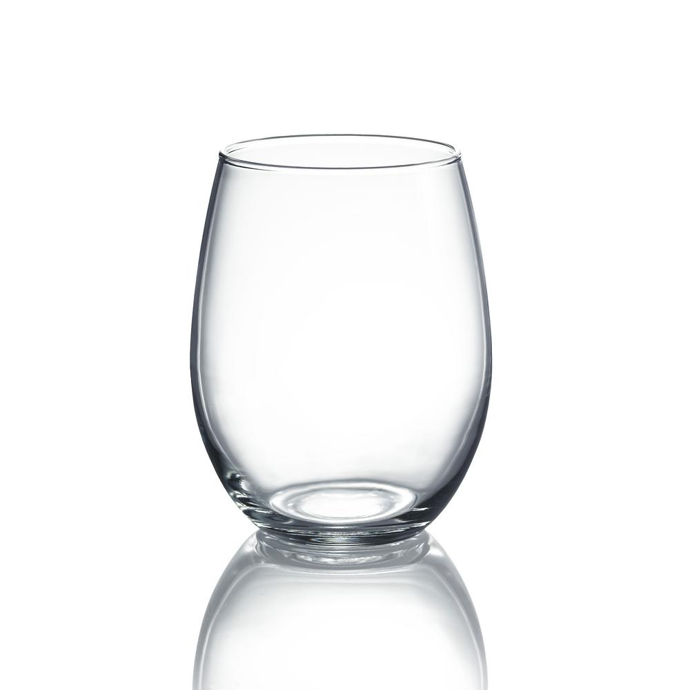 Cachet 15 oz. Stemless Wine Party Pack (Set of 12)