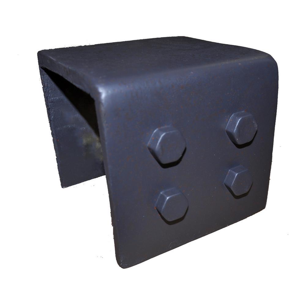 6 in. x 7 in. x 6.5 in. Industrial Faux Rigid Metal Strap