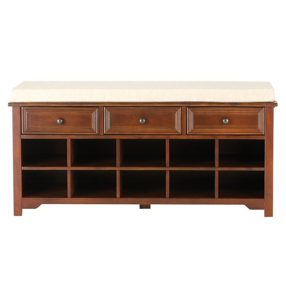 Home Decorators Collection Chestnut Bench