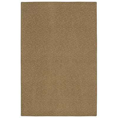 Pattern Perry Canoe Texture 9 ft. x 12 ft. Bound Carpet Rug