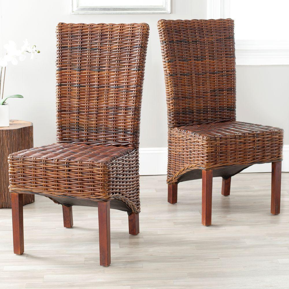 Ridge Croco Mango Wood Side Chair Set of 2