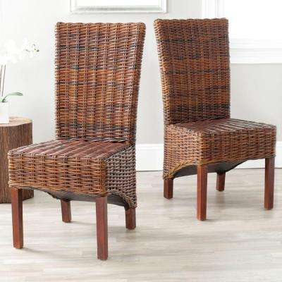 Ridge Croco Mango Wood Side Chair Set of 2