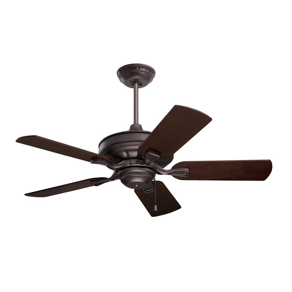 Hampton Bay Courtney 42 In  Indoor Oil Rubbed Bronze Ceiling Fan With Light Kit-61876