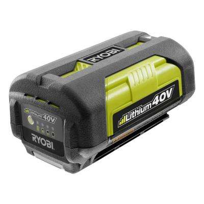 40-Volt Lithium-ion 2.6 Ah Battery