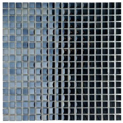 Claude Mirror Mini 11-3/4 in. x 11-3/4 in. x 6 mm Glass Mosaic Tile