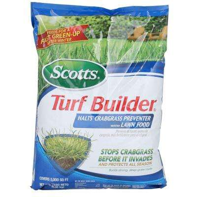 Turf Builder 13.58 lb. 5,000 sq. ft. Halts Crabgrass Preventer Lawn Fertilizer