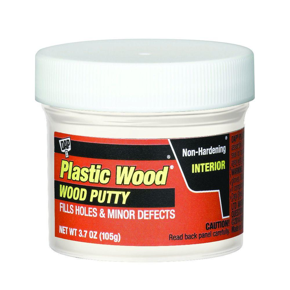 DAP Plastic Wood 3.7 oz. White Wood Putty (6-Pack)-7079821245 - The ...