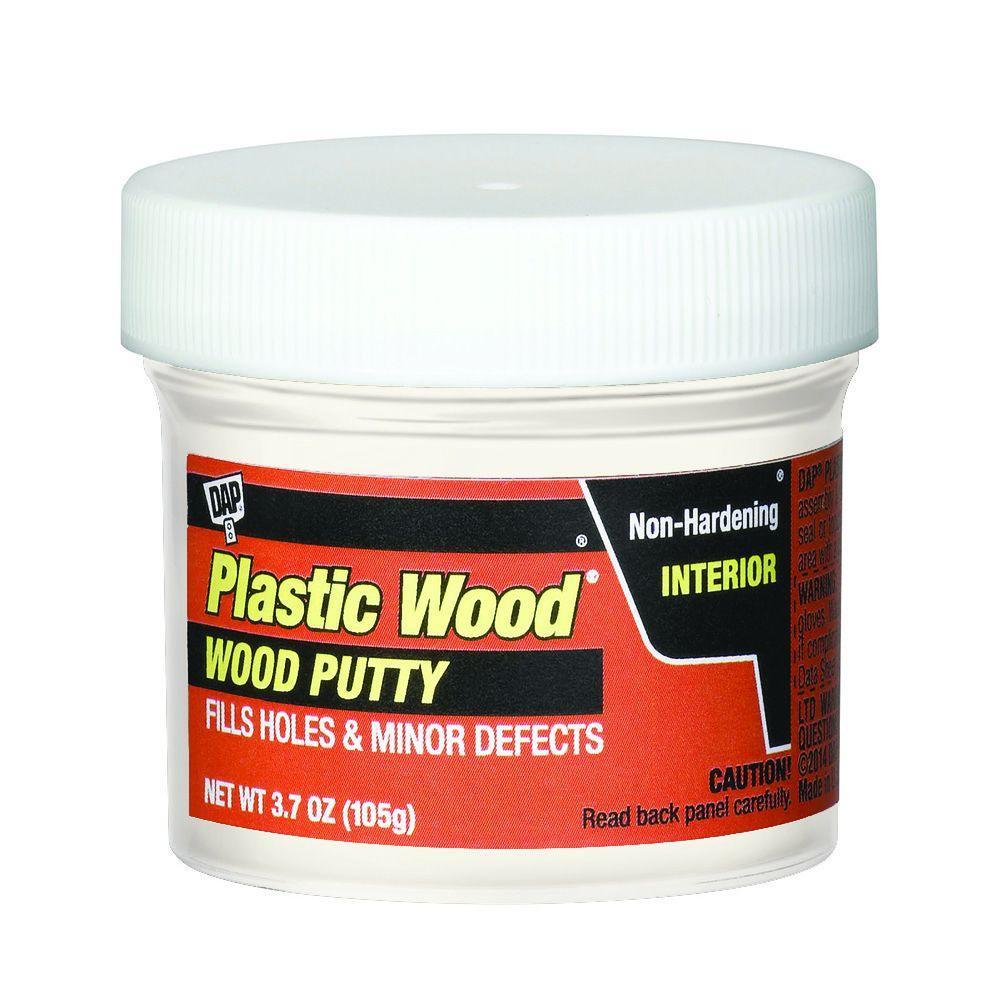 Plastic Wood 3.7 oz. White Wood Putty (6-Pack)