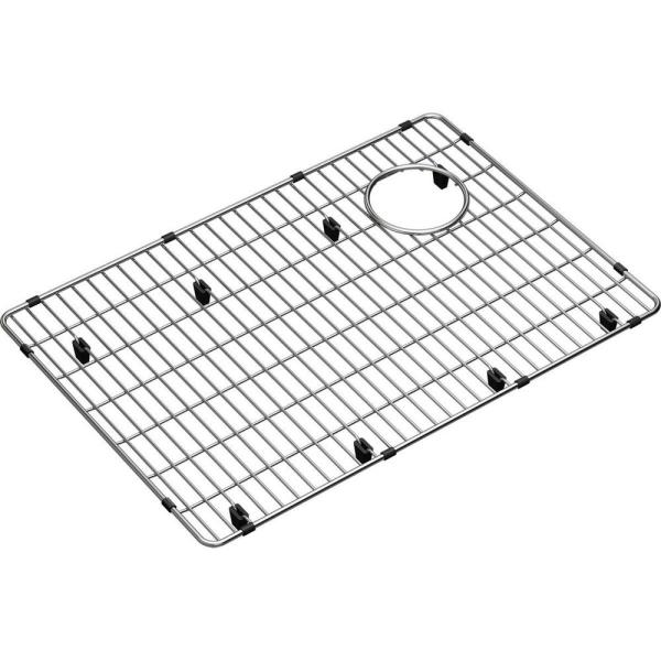 Elkay Crosstown 22 5 In X 15 5 In Bottom Grid For Kitchen Sink In Stainless Steel Ctxbg2215 The Home Depot