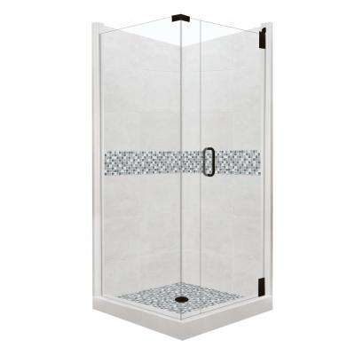 corner shower kits 36 x 36. Del Mar Grand Hinged 36 in  x Double Shower Stalls Kits Showers The Home Depot