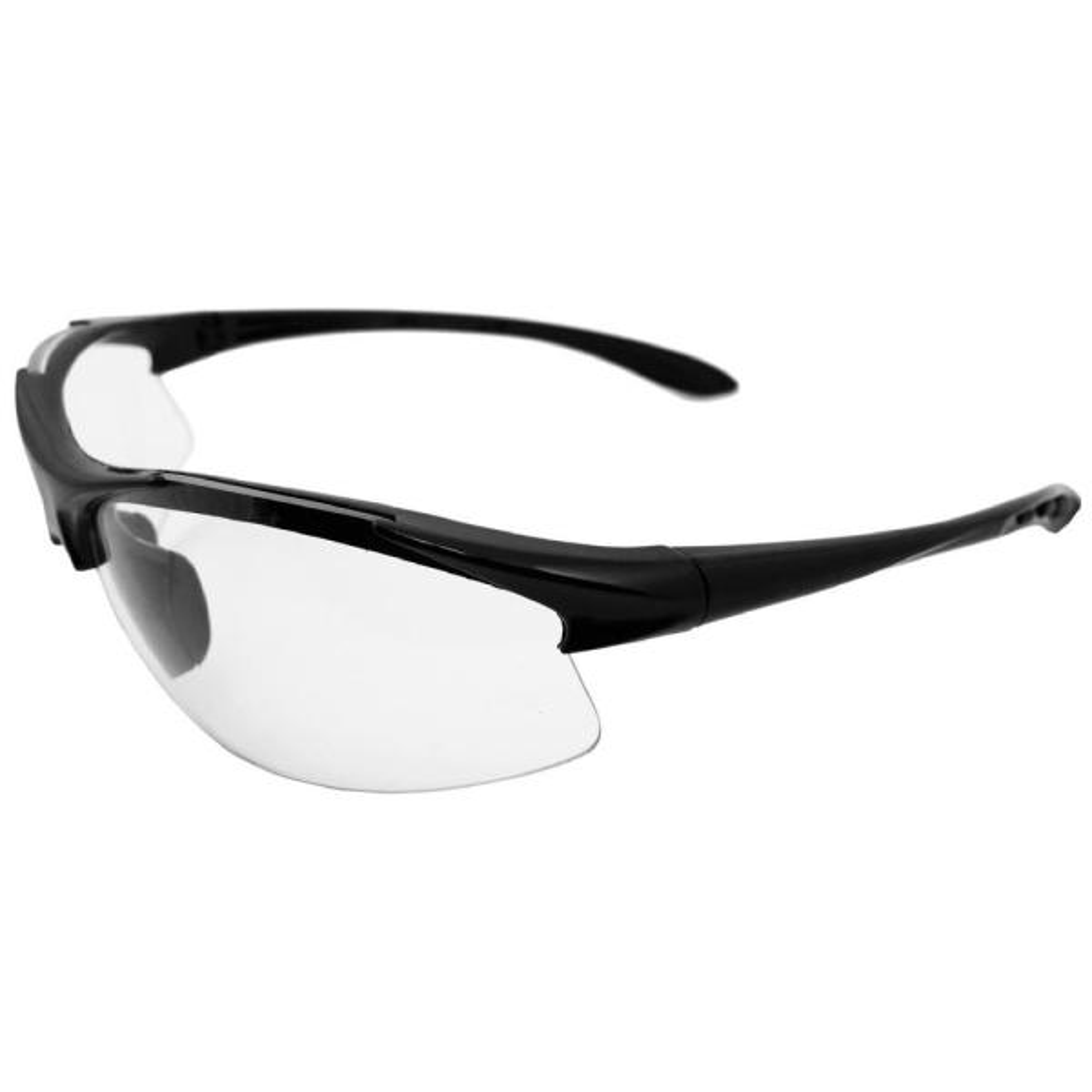 Commandos Eye Protection Black Frame/Clear Lens