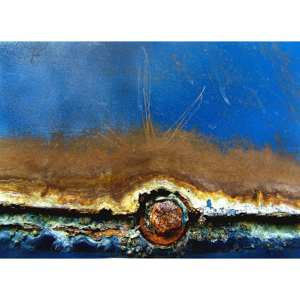 ZUO 38 in. x 54 in. Rusted in the Ocean Hand Painted Artwork